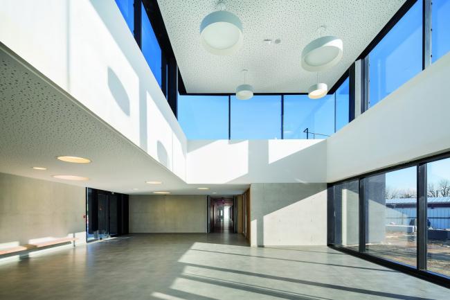 Школьный кампус Триво-Гарен © Sergio Grazia