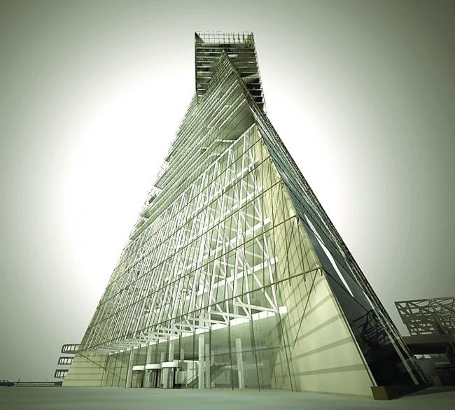 Высотная застройка площади у Ладожского вокзала, Санкт-Петербург