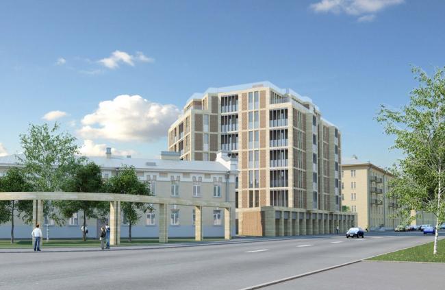 Жилой дом на ул. Чапаева.
