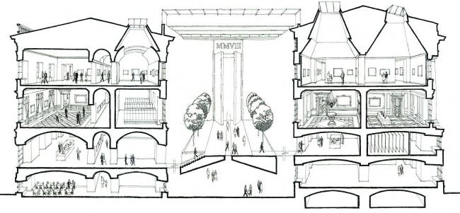 Государственный Эрмитаж, новая Большая Анфилада в восточном крыле Главного Штаба, Санкт-Петербург