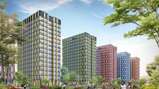 Комплекс апартаментов «Технопарк». Реализация, 2017 © SPEECH