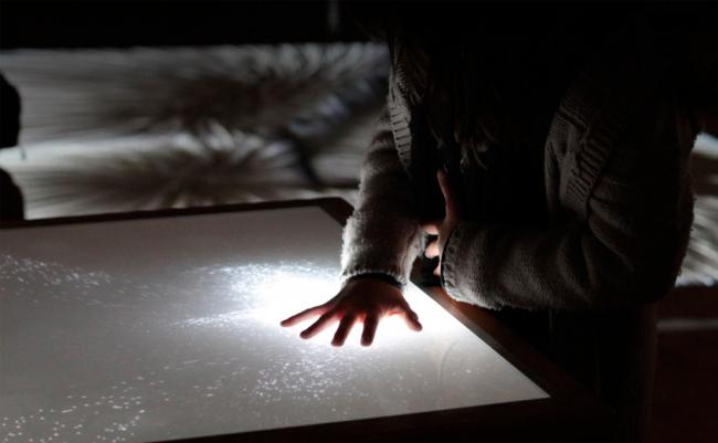 XYZT, Абстрактные пейзажи. Выставка на площадке B.E.R.E.G. в рамках фестиваля TERRITORIЯ. Предоставлено Анной Медлевой