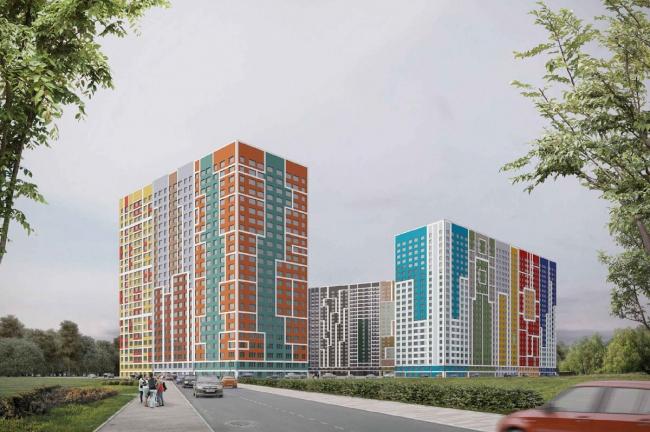 Первая очередь жилого комплекса «Эталон-Сити»