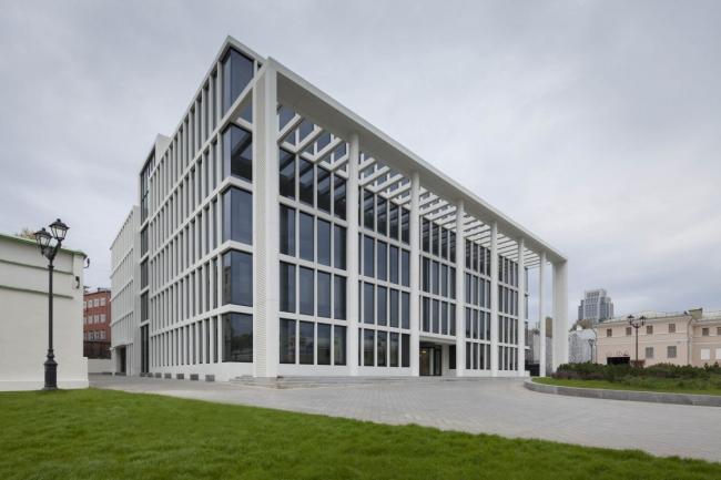 Новое здание Мосгордумы © SPEECH