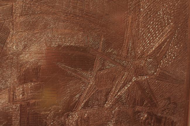 Выставка «Пиранези. До и после. Италия – Россия. XVIII-XXI века» в ГМИИ им. А.С. Пушкина, 20.09.16-13.11.16. Медные доски Пиранези. Фотография © Юлия Тарабарина