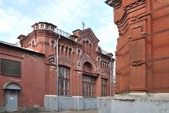Buildings of the pumping station, the current state © Atrium