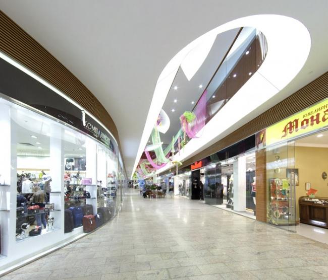 Торговый центр «Мегаторг». Реализация, 2008 © SPEECH