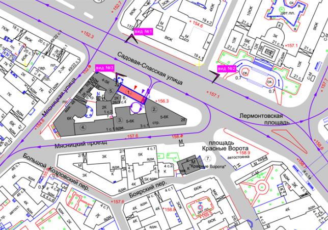 Административно-деловое здание в Мясницком проезде. Проектная организация: «ЭПИ Моспроект-5». Заказчик: «Вектор»