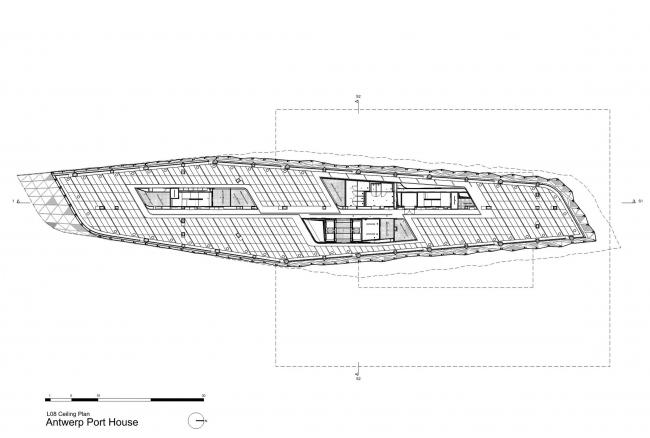 Здание администрации порта Антверпена © Zaha Hadid Architects