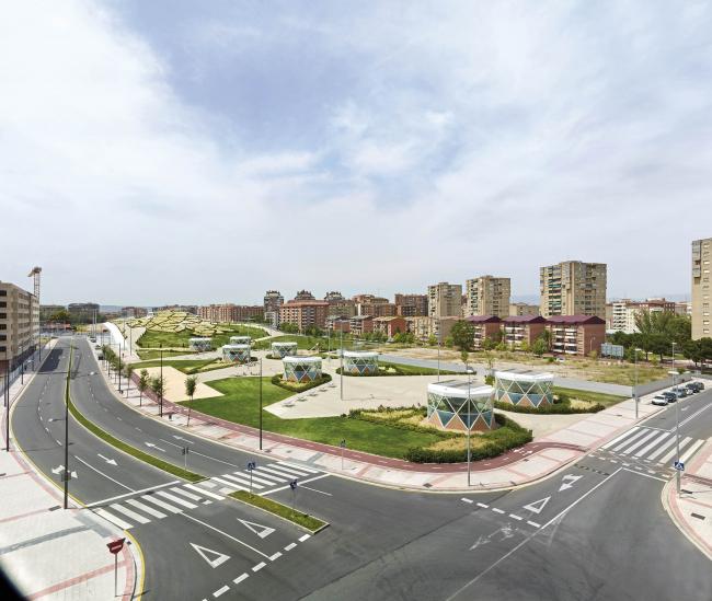 Парк Филиппа VI в Логроньо. 2013 © José Hevia