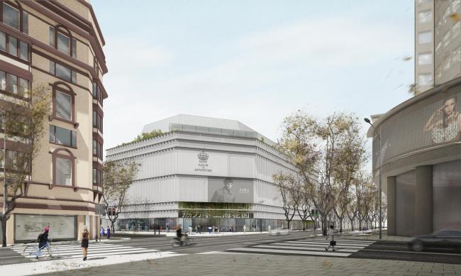 Торговый центр «Лунфэн» в Шанхае © Ábalos+Sentkiewicz Arquitectos