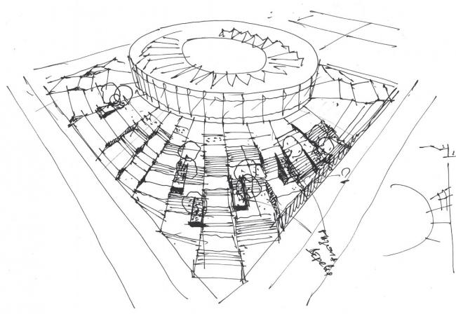 Cтадион ФК «Краснодар». Эскиз. Проект, 2011-2013 © SPEECH