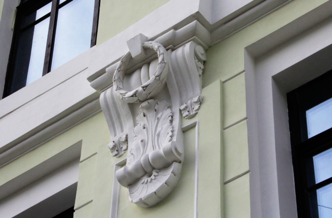 Реставрация доходного дома Тюляевой архитектора Розенкапфа. Гинзбург архкитектс. Реализация, 2016. Фотография © Юлия Тарабарина, Архи.ру