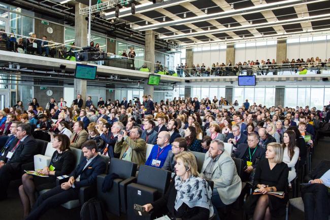 Гиперкуб, Сколково, 19.09.2016. Фотография предоставлена организаторами конференц-тура «Город как инновация»