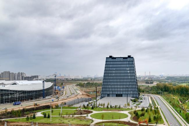 Инновационный центр «Сколково», Гиперкуб. Фотография © Василий Бабуров