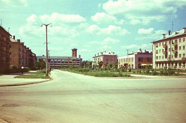 Наукоград Обнинск в 1971 году. Фотография предоставлена организаторами конференц-тура «Город как инновация»