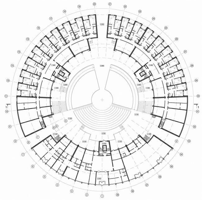 Загородный кампус ВШМ СПбГУ на базе дворцово-паркового ансамбля «Михайловская дача». План
