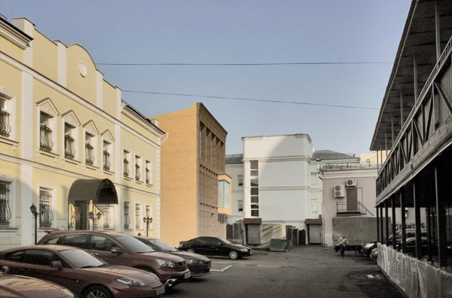 Мастерская З.К. Церетели. Проект, 2014