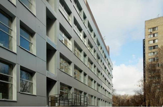 Школа скульптуры А. И. Рукавишникова. Реализация, 2012 © Мезонпроект