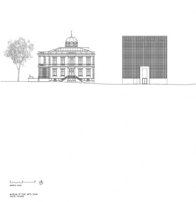 Новый корпус Художественного музея в Куре © Estudio Barozzi Veiga