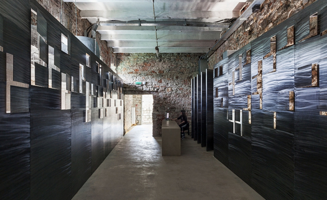 Центр современного искусства МАРС в Абрау-Дюрсо. Реализация, 2016. Nowadays. Фотография © Павел Сельдемиров