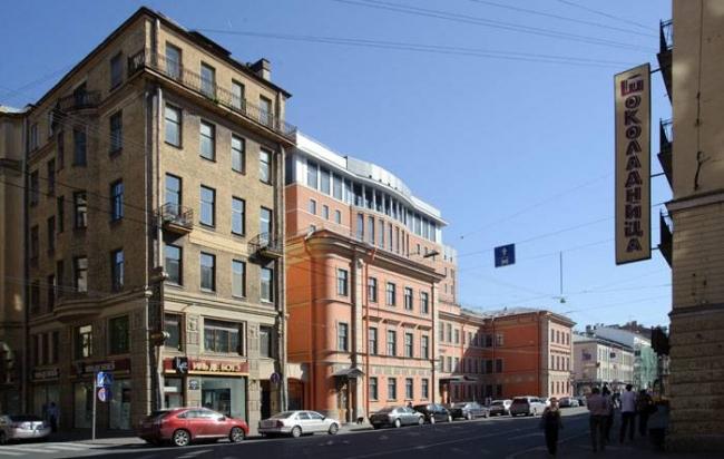 Отель «Введенский». Реализация, 2007. Фотография © А. Народицкий
