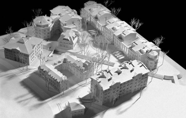 Реконструкция кинокопировальной фабрики. Реализация, 2005. Макет © Ю.А. Сенаторов, В.Р. Величкевич
