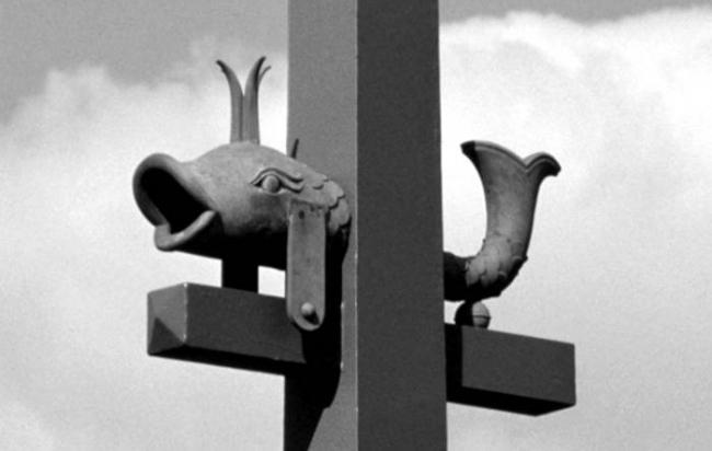 Эстакада Ушаковской развязки. Постройка, 2000 © Евгений Герасимов и партнеры