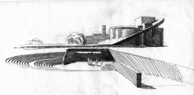 «Сад Гофмана». Конкурсный проект Музыкального театра в Калининграде