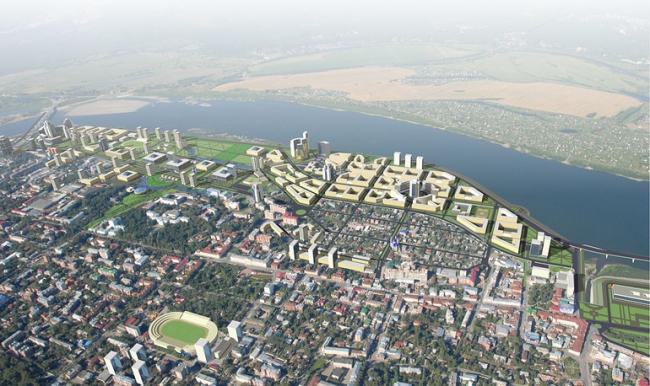 «ИНО Томск». Проект, 2015. Изображение © предоставлено пресс-службой администрации Томской области