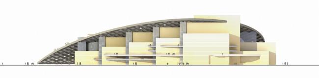«Сад Гофмана». Конкурсный проект Музыкального театра в Калининграде. Студия 44