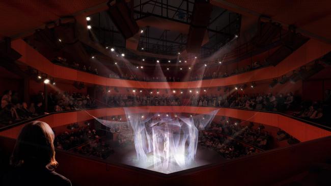Центр исполнительских искусств Перельмана в ВТЦ © Luxigon