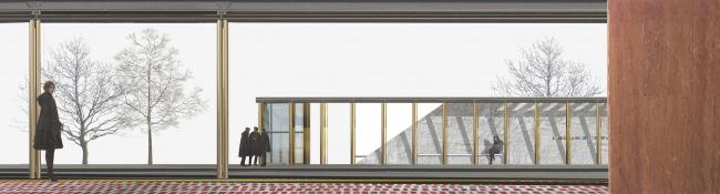 Дизайн интерьера станции метро «Солнцево». Конкурсный проект, 2014 © Nowadays