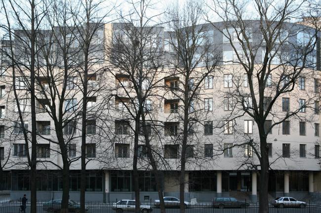 Жилой дом, 10-ая Советская ул., д.4-6. Санкт-Петербург. Студия 44
