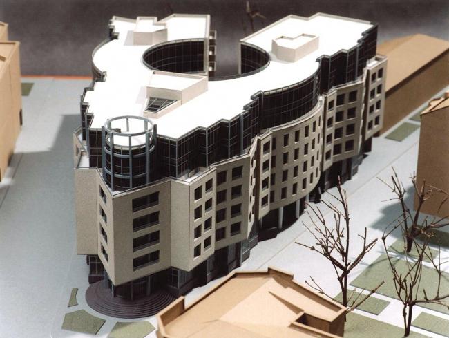 Жилой дом, 10-ая Советская ул., д.4-6. Макет