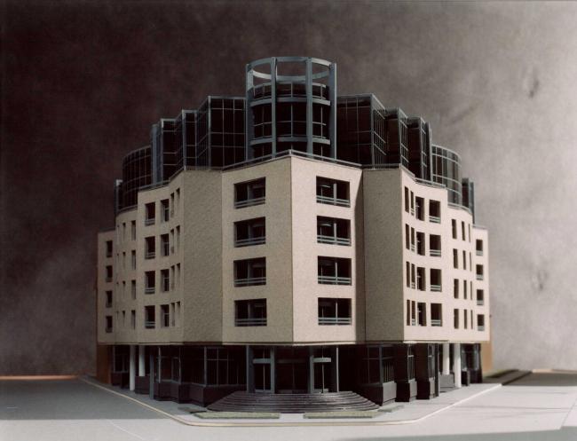 Жилой дом, 10-ая Советская ул., д.4-6. Санкт-Петербург. Студия 44 . Макет