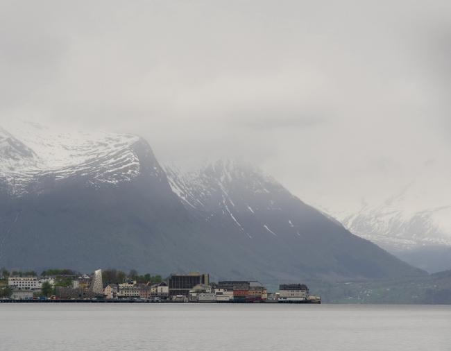 Норвежский скалолазный центр © Søren Harder Jensen