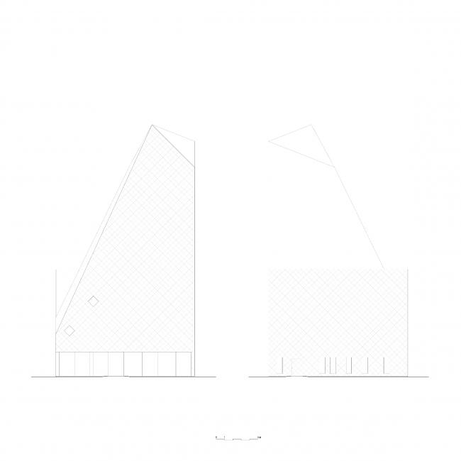 Норвежский скалолазный центр © Reiulf Ramstad Arkitekter