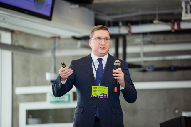 Андрей Антонов, «ИНО Томск». Фотография предоставлена организаторами конференц-тура «Город как инновация»