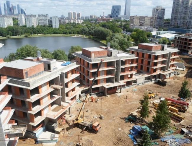 Жилой комплекс «Снегири». Фотография с сайта www.snegiri.com