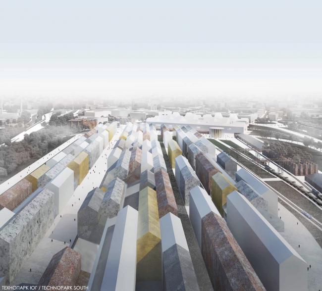 «Студия 44», Петербург. Концепция развития «Серого пояса» © Студия 44