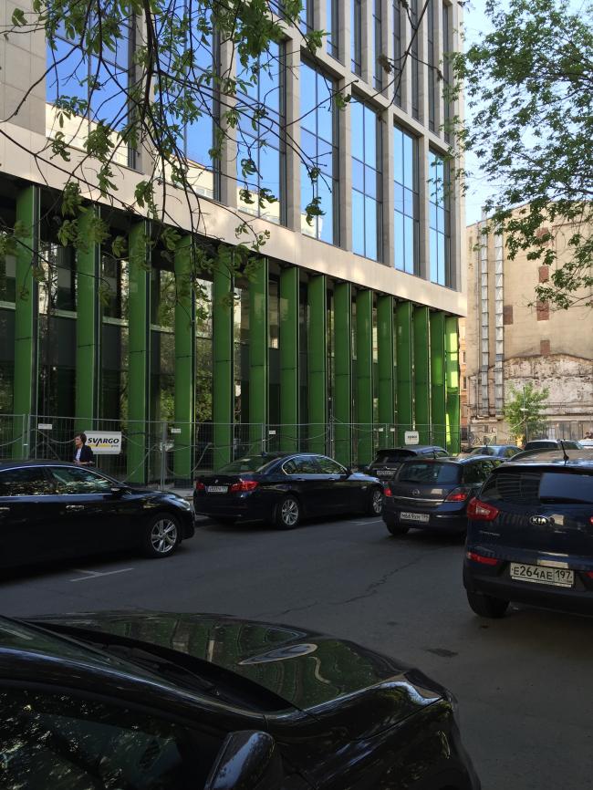 Деловой центр на улице Красина. Реализация, 2016 © ТПО «Резерв»