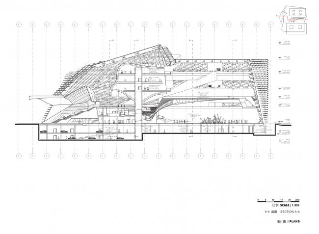 Музей современного искусства и градостроительная выставка – MOCAPE © Coop Himmelb(l)au