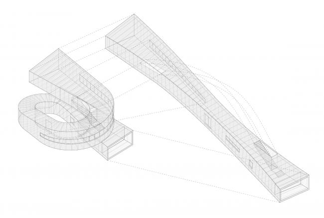 Дом 360º. Изометрия © Subarquitectura