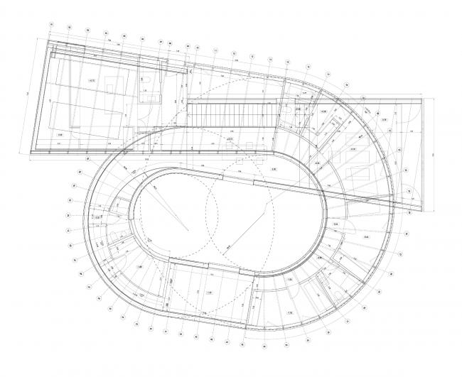 Дом 360º. План © Subarquitectura