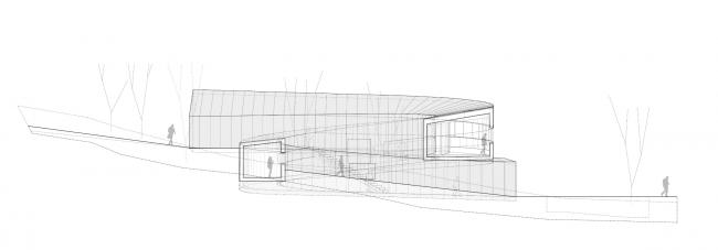 Дом 360º. Разрез © Subarquitectura