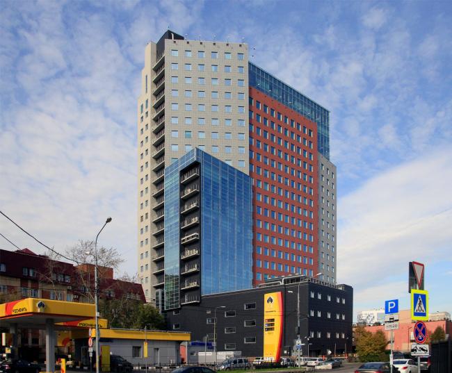 Бизнес-центр «Новосущевский», мастерская Бориса Шабунина, 2003-2006. Фотография © Юлия Тарабарина, 2016