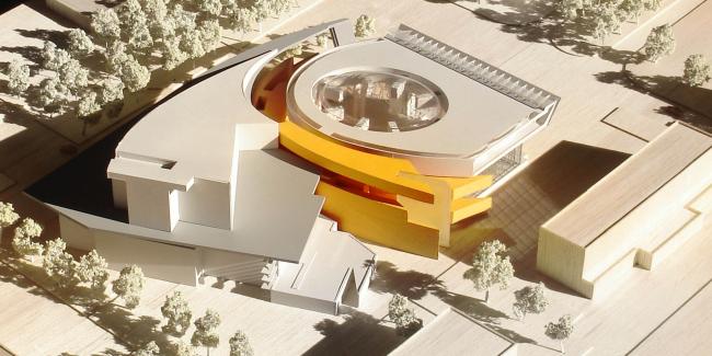 Театральный комплекс «СУРГУТ-ХОЛЛ». Макет. Конкурсный проект, 2006 © Четвертое измерение