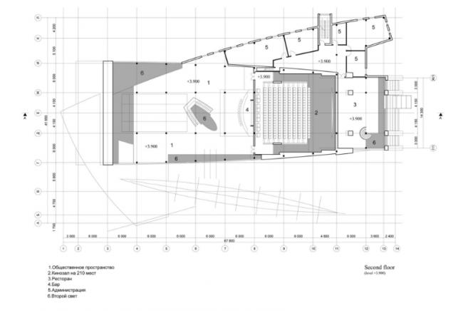 Развлекательный центр «ЛАНГАЛ». 2-ой этаж. Реализация, 2004 © Четвертое измерение