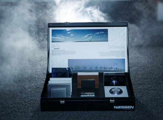 Компания АББ представляет премиальную серию электроустановочных решений SKY и SKYmoon. Фотография предоставлена компанией АББ